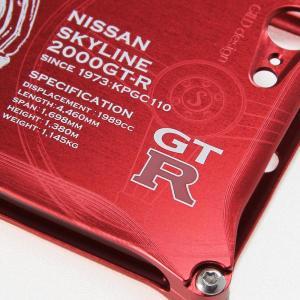 日産(NISSAN) GTR for ケンメリ ジュラルミンiPhoneケース [7,8対応]|nimitts|03