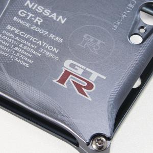 日産(NISSAN) GTR for R35 ジュラルミンiPhoneケース [SE(初代)/5/6/6plus対応]|nimitts|03