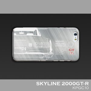 日産(NISSAN) GTR for ハコスカ iPhoneケース(PC)|nimitts