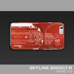 日産(NISSAN) GTR for ケンメリ iPhoneケース(PC)|nimitts