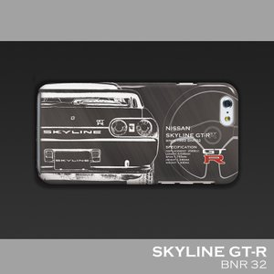 日産(NISSAN) GTR for R32 iPhoneケース(ポリカーボネート)|nimitts