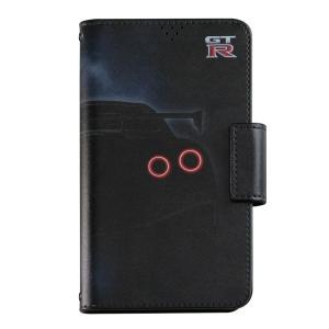 日産GT-R NISMO 手帳型汎用マルチケースA [iPhoneX他マルチ対応]|nimitts