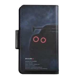 日産GT-R NISMO 手帳型汎用マルチケースA [iPhoneX他マルチ対応]|nimitts|02