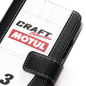 「CRAFTSPORTS MOTUL GT-R」手帳型iPhoneケース  [iPhoneX/XS,7/8対応]|nimitts|02