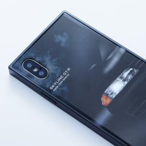 GT-R スクエア型iPhoneケース for BNR32 [iPhoneX,7/8対応]|nimitts|04