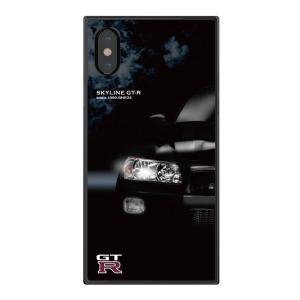 GT-R スクエア型iPhoneケース for BNR34 [iPhoneX/XS,7/8対応]|nimitts|02