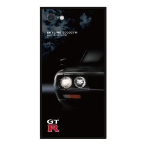 GT-R スクエア型iPhoneケース for KPGC110 [iPhoneX/XS,7/8/SE2対応]|nimitts