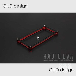 【GILD design】GIEV-222RB Solid Bumper for iPhone5/5s EVANGELION Limited(Red×Black)|nimitts
