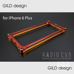 【GILD design】GIEV-252GRT Solid Bumper for iPhone6 Plus/6s Plus (EVANGELION Limited)エヴァンゲリオン弐号機|nimitts