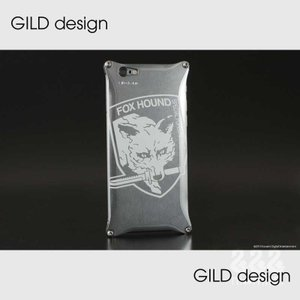 【GILD design】GIKO-250MG3 METAL GEAR SOLID V: FOXHOUND Ver. for iPhone6 Plus/6s Plus|nimitts