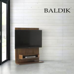 バルディック BALDIK テレビボード TVボード 壁掛けテレビ台 薄型スタンドタイプ ウォールナット nimus