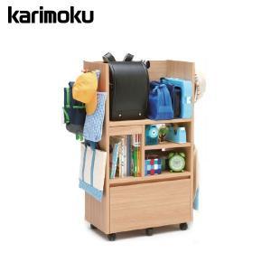 カリモク マルチラック ランドセルラック シェルフラック karimokuの写真