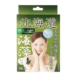 Coroku 北海道フェイスマスク海藻 25ml×4枚入【正規品】|ninecolors