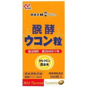 醗酵ウコン粒(500粒)【健康食品】|ninecolors