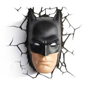BATMAN 3D Deco Light バットマン 3Dデコライト ひび割れステッカー ウォールライト LED 照明 壁ライト nineselect
