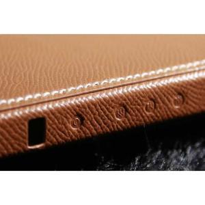 『期間限定特価』ONKYO オンキョー ハイレゾ プレーヤー GRANBEAT DP-CMX1用 レザーケース Gold 9PJCMX1 FROM PJ Italian Leather Case|nineselect|04