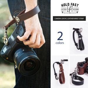 HOLD FAST/ホールドファスト CAMERA LEASH-LEATHER WRIST STRAP 2colors 本革 リストストラップ おしゃれ ファッション カメラストラップ CL02-WB|nineselect