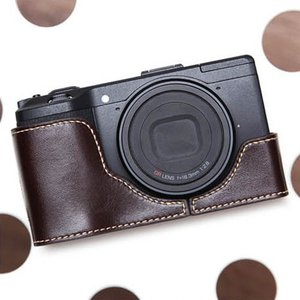CIESTA シエスタ RICOH GR2/GR おしゃれ レザー カメラケース Dark Brown 高級 高品質 本革 リコー|nineselect