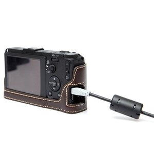 CIESTA シエスタ RICOH GR2/GR おしゃれ レザー カメラケース Dark Brown 高級 高品質 本革 リコー|nineselect|04
