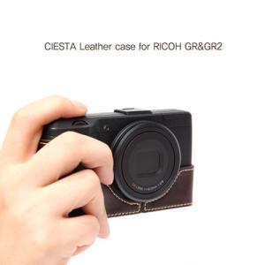 CIESTA シエスタ RICOH GR2/GR おしゃれ レザー カメラケース Dark Brown 高級 高品質 本革 リコー|nineselect|05