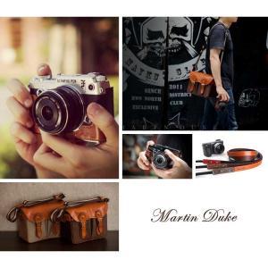 Martin Duke Camera bag SVEN Madium 2colors Camel/Brown DT01 おしゃれ ショルダー カメラバッグ  ナイロン イタリアンレザー 男女兼用|nineselect|10