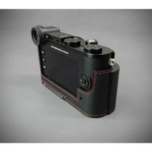 『ご予約受付中』LIM'S リムズ Italian Genuine Leather Metal grip Half Case for Leica CL LC-CL1BK Black ブラック ライカ CL用 おしゃれ 本革 カメラケース|nineselect|06