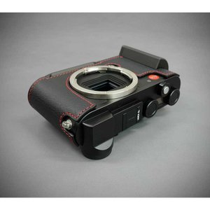 『ご予約受付中』LIM'S リムズ Italian Genuine Leather Metal grip Half Case for Leica CL LC-CL1BK Black ブラック ライカ CL用 おしゃれ 本革 カメラケース|nineselect|09