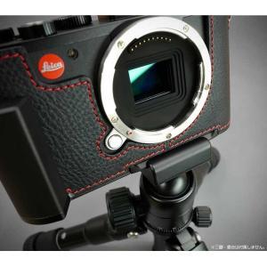 『ご予約受付中』LIM'S リムズ Italian Genuine Leather Metal grip Half Case for Leica CL LC-CL1BK Black ブラック ライカ CL用 おしゃれ 本革 カメラケース|nineselect|10