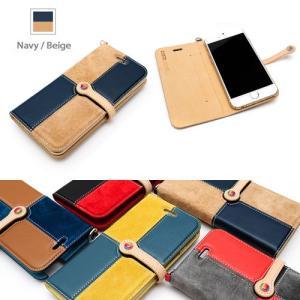 『数量限定50%OFF!』iPhone6S/iPhone6 手帳型 レザーケース LIM'S Rare Combination Slim Fit Edition  for iPhone6S iPhone6 5color|nineselect|04