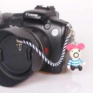 『スマートレターOK!』レンズキャップ ストラップ 11cm 海賊 lens cap strap 紛失防止 クマ型 フィギュア ベア おしゃれ かわいい カメラ女子|nineselect