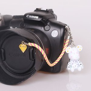 『スマートレターOK!』レンズキャップ ストラップ 11cm シューティングスター lens cap strap 紛失防止 フィギュア ベア おしゃれ かわいい カメラ女子|nineselect