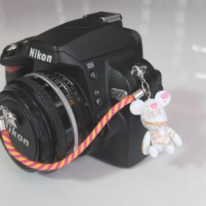 『スマートレターOK!』レンズキャップ ストラップ 11cm I LOVE LONDON lens cap strap 紛失防止 クマ型 フィギュア ベア おしゃれ かわいい カメラ女子|nineselect