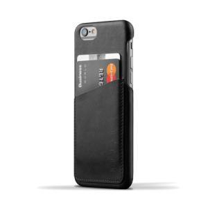 iPhone6S/iPhone6 用レザーケース MUJJO Leather Wallet Case Black カード収納 本革ケース おしゃれ 並行輸入品|nineselect