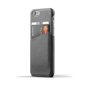 iPhone6S/iPhone6 用レザーケース MUJJO Leather Wallet Case Gray カード収納 本革ケース おしゃれ 並行輸入品|nineselect