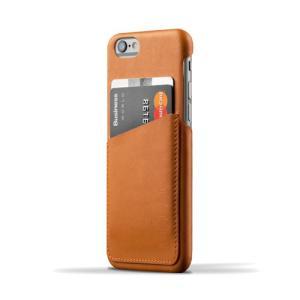 iPhone6S/iPhone6 用レザーケース MUJJO Leather Wallet Case Tan カード収納 本革ケース おしゃれ 並行輸入品|nineselect
