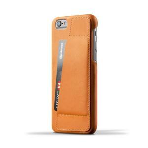 iPhone6S/iPhone6 用レザーケース MUJJO Leather Wallet Case 80° Tan カード収納 本革ケース おしゃれ 並行輸入品|nineselect