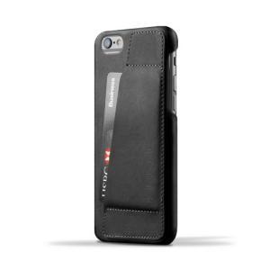 iPhone6S/iPhone6 用レザーケース MUJJO Leather Wallet Case 80° Black カード収納 本革ケース おしゃれ 並行輸入品|nineselect