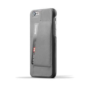 iPhone6S/iPhone6 用レザーケース MUJJO Leather Wallet Case 80° Gray カード収納 本革ケース おしゃれ 並行輸入品|nineselect