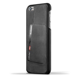 iPhone6S Plus/iPhone6 Plus 用レザーケース MUJJO Leather Wallet Case 80° Black カード収納 本革ケース おしゃれ 並行輸入品|nineselect
