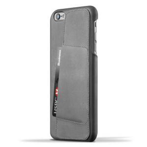 iPhone6S Plus/iPhone6 Plus 用レザーケース MUJJO Leather Wallet Case 80° Gray カード収納 本革ケース おしゃれ 並行輸入品|nineselect