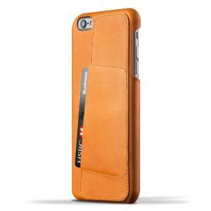 iPhone6S Plus/iPhone6 Plus 用レザーケース MUJJO Leather Wallet Case 80° Tan カード収納 本革ケース おしゃれ 並行輸入品|nineselect