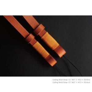 mi81 Coiling Wrist Strap 1.0 MH202 3colors ヒモ タイプ おしゃれ 本革 レザー リストストラップ カメラストラップ ハンドメイド|nineselect|12