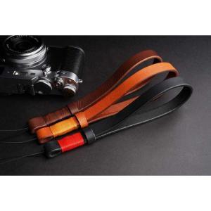 mi81 Coiling Wrist Strap 1.0 MH202 3colors ヒモ タイプ おしゃれ 本革 レザー リストストラップ カメラストラップ ハンドメイド|nineselect|04