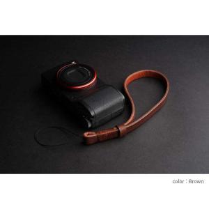 mi81 Coiling Wrist Strap 1.0 MH202 3colors ヒモ タイプ おしゃれ 本革 レザー リストストラップ カメラストラップ ハンドメイド|nineselect|06