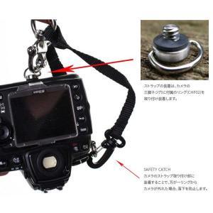 HOLD FAST/ホールドファスト MONEY MAKER WATER BUFFALO LEATHER ダブルストラップ Small MM06-WB-BL-S Black カメラ2台同時携行|nineselect|03