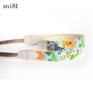 mi81 Printed cotton Neck Strap MN019CA Colorful Animals カメラストラップ ネックストラップ おしゃれ かわいい 柄 ミラーレス カメラ女子|nineselect