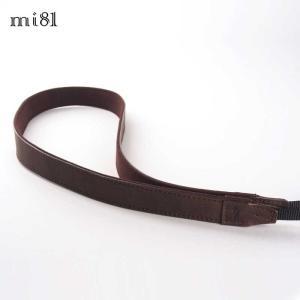 mi81 Leather Neck Strap 2.0 MN203DB Dark Brown おしゃれ 本革 カメラネックストラップ カメラストラップ Camera Strap 牛革 ミラーレス カメラ カメラ女子|nineselect