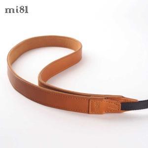 mi81 Leather Neck Strap 2.0 MN203LB Light Brown おしゃれ 本革 カメラネックストラップ カメラストラップ Camera Strap 牛革 ミラーレス カメラ カメラ女子|nineselect