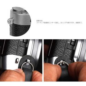 mi81 Shoulder pad neck strap MN401 4colors 丸リング タイプ おしゃれ 本革 レザー ネックストラップ カメラストラップ ショルダーパッド|nineselect|10