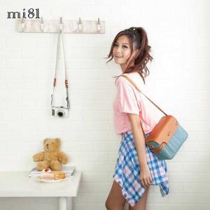 mi81 Sweety Camera bag L Skyblue Denim MT02SB ショルダー カメラバッグ おしゃれ かわいい ミラーレス一眼 デジタルカメラ カメラ女子|nineselect